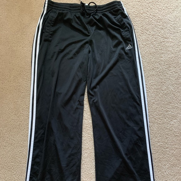 adidas Other - Adidas Clima365 Black Athletic Workout Pants XL